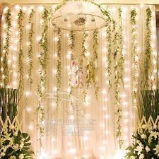 wedding backdrop fairy lights 223 best tulle and lights images on lights marriage