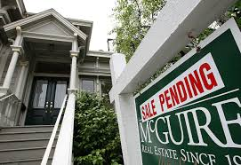 why do pending home sales fall through