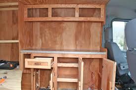 sprinter van conversion floor plans kitchen in stealth sprinter conversion me haulers pinterest