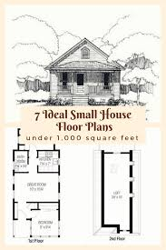 7 ideal small house floor plans under 1 000 square feet cabins