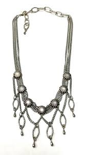 multi layered necklace images Silver multi layered necklace emeryk jewelry jpeg