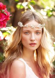 sparkly hair sparkly bohemian boho style princess bridal headpiece