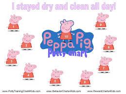 5 images peppa pig reward chart printable free peppa pig