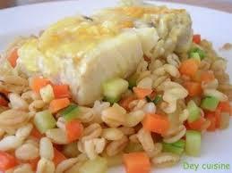 cuisiner filet de colin recette filets de colin à l orange blé aux petits légumes 750g