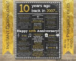 10th wedding anniversary gifts wedding ideas stunning tenth wedding anniversary gifts for him