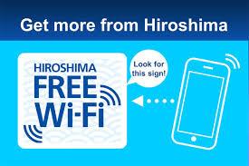 hiroshima free wi fi tourist information explore hiroshima