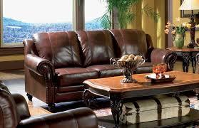 Coaster Leather Sofa Princeton Tri Tone Burgundy Leather Sofa By Coaster