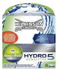 wilkinson sword hydro 5 sensitive razor blades pack of 8 amazon