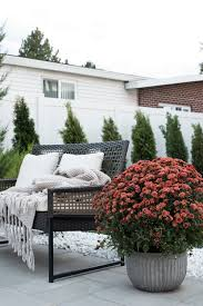 transitioning the backyard for fall room for tuesday blog