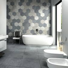 bathroom feature wall ideas the 25 best hexagon tile bathroom ideas on hexagon