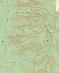 Map Of Zion National Park Bluugnome Com Canyoneering Icebox Canyon North Entry Zion