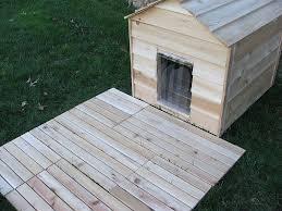 small backyard decks log dog house dog house with deck interior