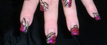 picture 5 of 5 acrylic nail designs photo gallery