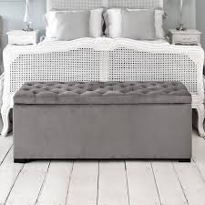 sofa grey and white ottoman grey ottoman bench velvet ottoman