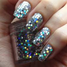 holy holo glitter placement nails the nailinator