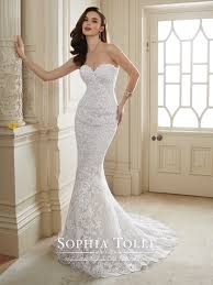 wedding dress no two lace tulle wedding dress tolli y11652