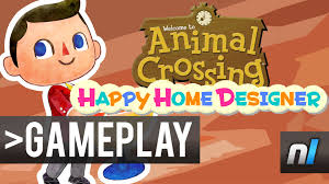 Animal Crossing Happy Home Designer First Look YouTube - Home designer games