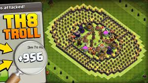 coc layout builder th8 clash of clans phenomenal th8 troll base the colosseum 900
