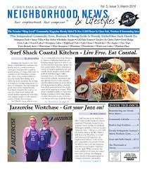 Surf Shack Coastal Kitchen - westchase vol 5 issue 3 march 2016 by tampa bay news