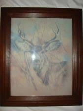 home interior deer pictures home interior buck deer picture ebay