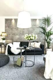 idée de canapé idee deco salon canape noir awesome deco salon gris noir blanc idee