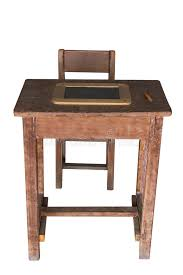 student desk and chair wooden student desk and chair with slate stock image image of