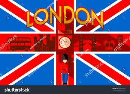 Englang Flag England Flag London Art Stock Vector 524140015 Shutterstock