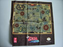 Twilight Princess Map Hyrule Blog The Zelda Blog The Wind Waker Hd Collector U0027s Guide