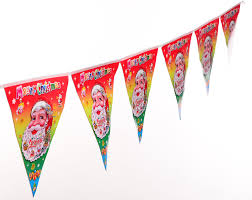 Banners Flags Pennants Buy Christmas Decorations Christmas Pull The Flag Pennant Ceiling