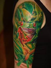 small eagle tree frog sleeve design idea for and