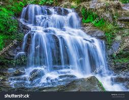 Rock Garden Waterfall Rock Garden Waterfall Stock Photo 580760545 Garden