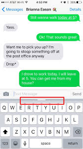 tip of the day hide the predictive text feature on your keyboard