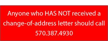 Change Of Address Announcement Letter Montour County Default