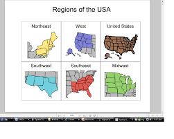 United States Regions Map Special Student Services Regions Of United States