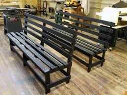 church benches restoration full circle of woodworking
