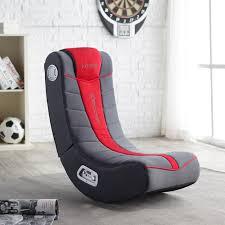x rocker fox video game chair with 2 1 wireless audio black