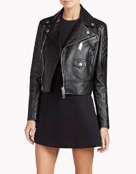 biker jacket women dsquared2 leather biker jacket leather outerwear women