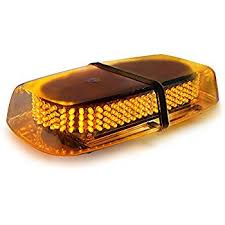 Emergency Light Bars For Trucks Amazon Com Xprite Amber 240 Led Roof Top Mini Bar Truck Car