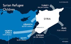 Syria On A Map by The Challenge Of Education