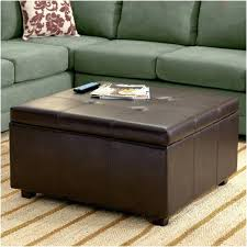 Large Tufted Leather Ottoman Fancy Large Tufted Ottoman Taptotrip Me