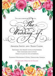custom printed wedding invitations design your wedding