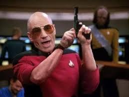 Meme Picard - meme maker picard gun generator