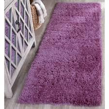purple plush rug bellacor