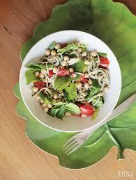spring pasta salad with easy pesto pure ella