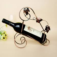 Wine Bottle Home Decor Online Get Cheap Tabletop Wine Racks Aliexpress Com Alibaba Group