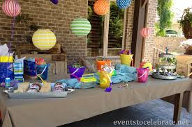 Party Table Decorations by Decor Beach Party Table Decorations Design Decor Lovely And