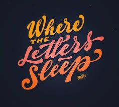 where the letters sleep the work of yani arabena u0026 guille