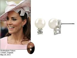 kate middleton diamond earrings kate mixed annoushka s baroque pearl drops with