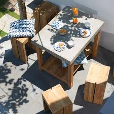 outdoor trend shop concrete outdoor furniture