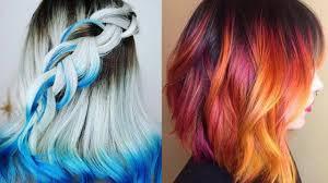 2017 2018 hair color ideas for short hair youtube